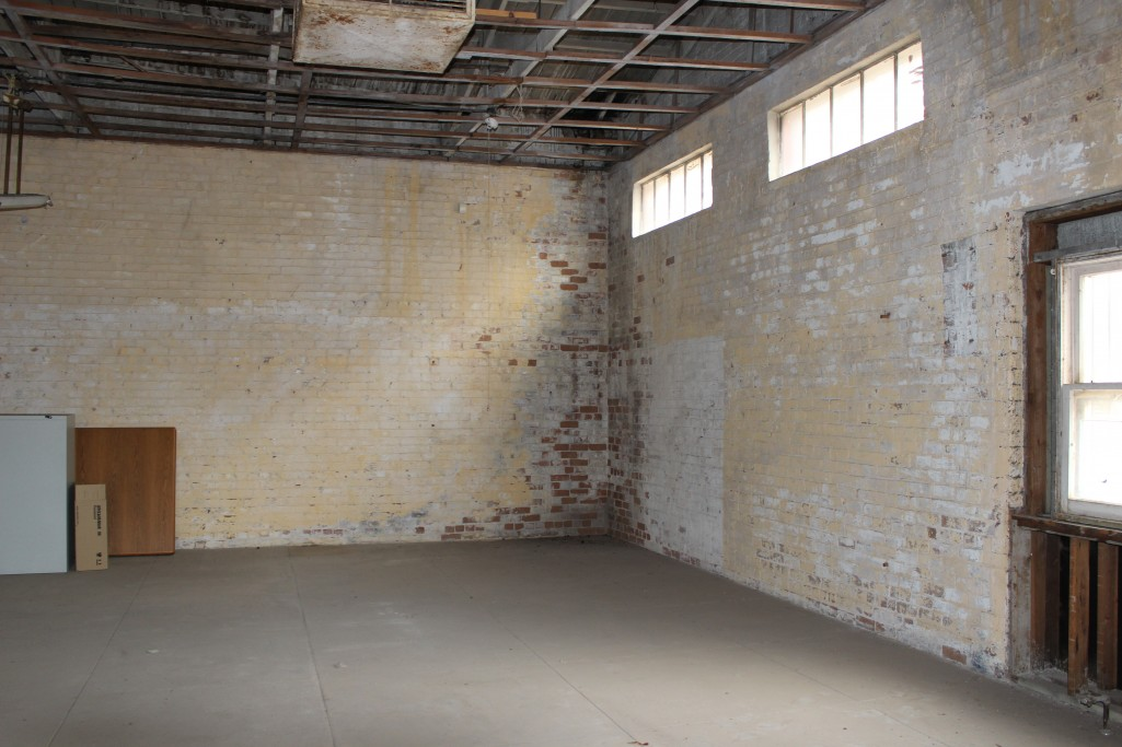 One challenge was removing years of paint to reveal the rich character of the brick walls.