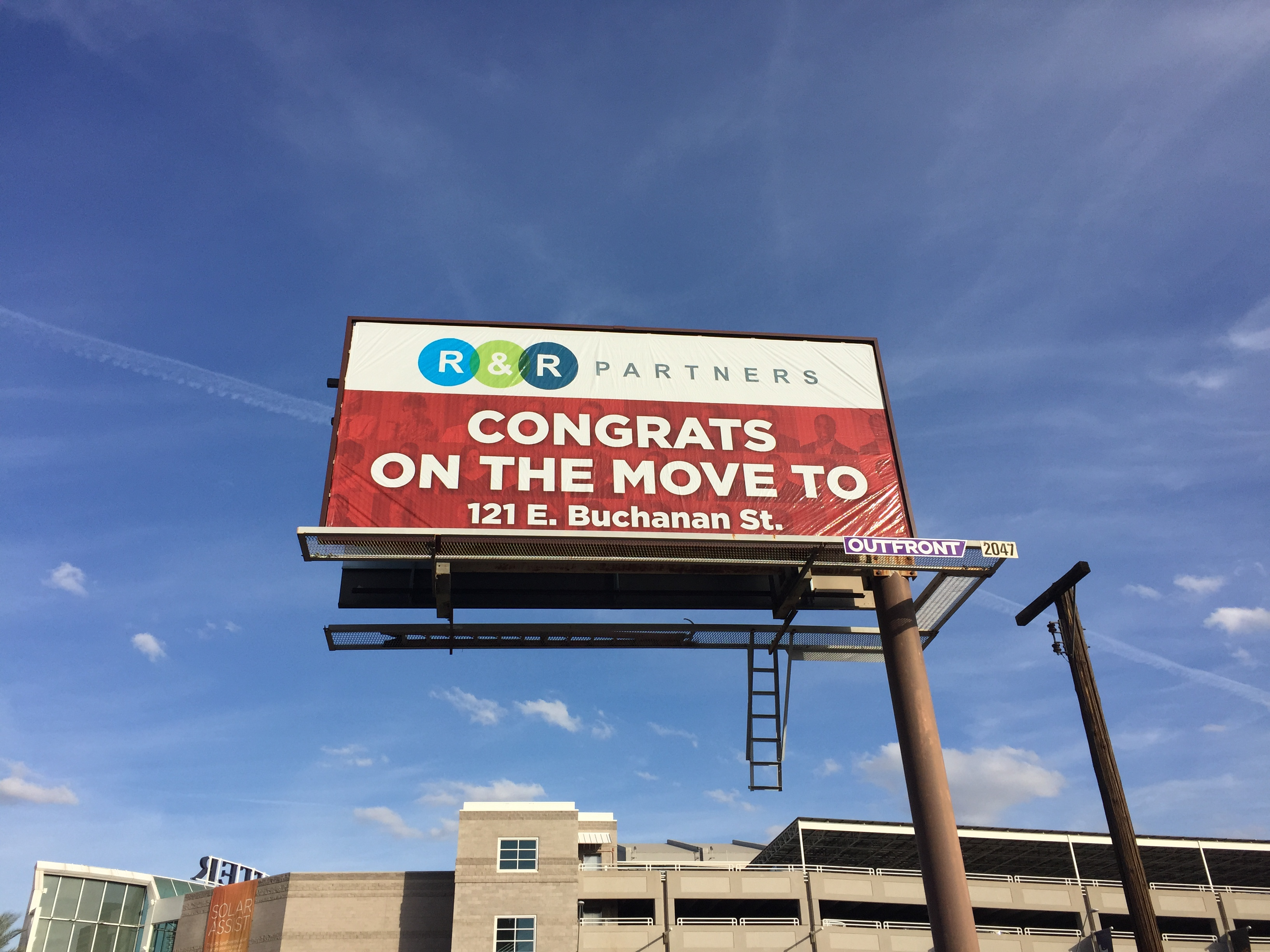 Our media partner Outfront Media gave us a warm welcome to the neighborhood with a custom a billboard on Madison & 1st Ave.
